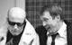 "Спектакль: <b><i>№13</i></b><br />Спектакль: <b><i>№13</i></b><br /><span class=""normal"">Тело мужское— Леонид Тимцуник<br />Джордж Пигден— Евгений Миронов<br /><i></i><br /><span class=""small"">© Олег Черноус</span></span>"