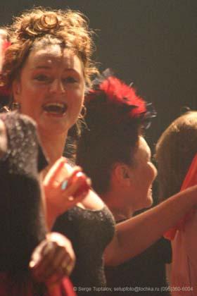 """Спектакль: <b><i>Безразмерное Ким-танго</i></b><br /><span class=""""normal"""">Екатерина Тенета<br /><i></i><br /><span class=""""small"""">© Сергей Тупталов</span></span>"""