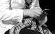 """Спектакль: <b><i>Мастер иМаргарита</i></b><br /><span class=""""normal"""">Бегемот— Фёдор Лавров<br />Михаил Александрович Берлиоз— Игорь Золотовицкий<br />Гелла— Мария Зорина<br />Коровьев— Михаил Трухин<br /><i></i><br /><span class=""""small"""">© Екатерина Цветкова</span></span>"""