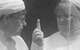"Спектакль: <b><i>Каренин</i></b><br /><span class=""normal"">Первая медсестра— Ирина Цымбалюк<br />Вторая медсестра— Ирина Моисеева<br />Каренин— Дмитрий Шевченко<br /><i></i><br /><span class=""small"">© Екатерина Цветкова</span></span>"