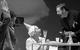 "Спектакль: <b><i>Несвоевременный визит</i></b><br /><span class=""normal"">Журналист— Родион Долгирев<br />Медсестра— Римма Коростелева<br />Юбер— Павел Ващилин<br />Сириль— Олег Мазуров<br /><i></i><br /><span class=""small"">© Екатерина Цветкова</span></span>"