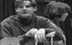 """Спектакль: <b><i>Скрипка инемножко нервно</i></b><br /><span class=""""normal"""">Старший— Виталий Егоров<br />Барабанщик— Эдуард Чекмазов<br /><i></i><br /><span class=""""small"""">© Олег Черноус</span></span>"""