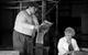"Спектакль: <b><i>Last summer inChulimsk</i></b><br /><span class=""normal"">Хороших— Nataliya Egorova<br />Мечеткин— Stanislav Duzhnikov<br /><i></i></span>"