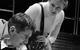 """Спектакль: <b><i>Новые страдания юного В.</i></b><br /><span class=""""normal"""">Отец— Евгений Миллер<br />Шарлотта— Нина Гусева<br /><i></i><br /><span class=""""small"""">© Екатерина Цветкова</span></span>"""