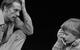 """Спектакль: <b><i>Семейные сцены</i></b><br /><span class=""""normal"""">Николай Боженко— Алексей Шевченков<br />Ваня Боженко— Егор Лучишкин<br /><i></i><br /><span class=""""small"""">© Екатерина Цветкова</span></span>"""