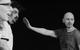 "Спектакль: <b><i>Начнём всё сначала / Circle Mirror Transformation</i></b><br /><span class=""normal"">Марти— Дарья Юрская<br />Джеймс— Игорь Золотовицкий<br />Шульц— Валерий Трошин<br /><i></i><br /><span class=""small"">© Екатерина Цветкова</span></span>"