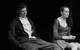 """Спектакль: <b><i>Круги / Сочинения</i></b><br /><span class=""""normal"""">Безработные— Сергей Медведев<br />Безработные— Яна Давиденко<br /><i></i><br /><span class=""""small"""">© Екатерина Цветкова</span></span>"""