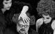 """Спектакль: <b><i>Пьяные</i></b><br /><span class=""""normal"""">Лаура— Яна Гладких<br />Карл— Игорь Золотовицкий<br />Роза— Яна Осипова<br />Лора— Светлана Иванова-Сергеева<br /><i></i><br /><span class=""""small"""">© Екатерина Цветкова</span></span>"""