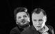 "Спектакль: <b><i>Пьяные</i></b><br /><span class=""normal"">Рудольф— Армен Арушанян<br />Габриэль— Артём Волобуев<br /><i></i><br /><span class=""small"">© Екатерина Цветкова</span></span>"