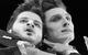 "Спектакль: <b><i>Пьяные</i></b><br /><span class=""normal"">Рудольф— Армэн Арушанян<br />Макс— Алексей Варущенко<br /><i></i><br /><span class=""small"">© Екатерина Цветкова</span></span>"