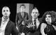 "Спектакль: <b><i>Пьяные</i></b><br /><span class=""normal"">Рудольф— Павел Левкин<br />Матиас— Алексей Краснёнков<br />Габриэль— Николай Сальников<br />Роза— Яна Дюбуи<br /><i></i><br /><span class=""small"">© Екатерина Цветкова</span></span>"
