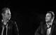 "Спектакль: <b><i>Пьяные</i></b><br /><span class=""normal"">Габриэль— Николай Сальников<br />Лоуренс— Максим Стоянов<br /><i></i><br /><span class=""small"">© Екатерина Цветкова</span></span>"