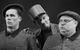"""Спектакль: <b><i>19.14</i></b><br /><span class=""""normal"""">Жан— Artem Bystrov<br />Конферансье— Artyom Volobuev<br />Доминик— Rostislav Lavrentiev<br /><i></i><br /><span class=""""small"""">© Ekaterina Tsvetkova</span></span>"""