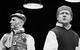 """Спектакль: <b><i>Военные туристы</i></b><br /><span class=""""normal"""">Свенссон— Леонид Тимцуник<br />Ниссе— Дмитрий Готсдинер<br /><i></i><br /><span class=""""small"""">© Екатерина Цветкова</span></span>"""