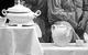 """Спектакль: <b><i>Старосветские помещики</i></b><br /><span class=""""normal"""">Комнатный мальчик— Артём Панчик<br />Явдоха— Юлия Полынская<br />Девка— Ольга Литвинова<br />Девка— Мария Сокова<br />Девка— Юлия Шарикова<br />Девка— Надежда Жарычева<br />Афанасий Иванович— Александр Семчев<br /><i></i><br /><span class=""""small"""">© Екатерина Цветкова</span></span>"""