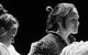 """Спектакль: <b><i>Старосветские помещики</i></b><br /><span class=""""normal"""">Девка— Ольга Литвинова<br />Явдоха— Юлия Полынская<br /><i></i><br /><span class=""""small"""">© Екатерина Цветкова</span></span>"""