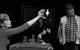 "Спектакль: <b><i>Замок</i></b><br /><span class=""normal"">Ольга— Яна Давиденко<br />Хозяин— Валерий Хлевинский<br />К.— Дмитрий Готсдинер<br /><i></i><br /><span class=""small"">© Екатерина Цветкова</span></span>"