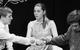 "Спектакль: <b><i>Job</i></b><br /><span class=""normal"">Илья Савин— Aleksey Krasnyonkov<br />Лидия Семёновна Савина— Olga Lapshina<br />Борис Савин— Igor Hripunov<br /><i></i><br /><span class=""small"">© Ekaterina Tsvetkova</span></span>"
