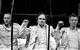 """Спектакль: <b><i>Бунтари</i></b><br /><span class=""""normal"""">актер— Артём Волобуев<br />актер— Иван Ивашкин<br />актер— Юрий Кравец<br />актер— Павел Ворожцов<br />актер— Артём Соколов<br /><i></i><br /><span class=""""small"""">© Екатерина Цветкова</span></span>"""