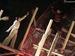 """Спектакль: <b><i>Золотой теленок, или Возвращение вОдессу</i></b><br /><span class=""""normal"""">Варвара, женщина сфантазией— Дарья Белоусова<br />Севрюгов, лётчик— Станислав Сухарев<br /><i></i><br /><span class=""""small"""">© Елена Сальтевская</span></span>"""