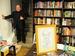 """<span class=""""normal"""">Геннадий Храпунков<br /><i>18 ноября 2010 года. Книжный клуб-магазин «Гилея», литературно-театральный вечер всвязи с50-летием со дня смерти Ю.К.Олеши</i></span>"""