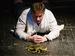 "Спектакль: <b><i>Меня убить хотели эти суки</i></b><br /><span class=""normal"">Румын— Сергей Щепачев<br /><i>Репетиция</i><br /><span class=""small"">© Иван Мурзин</span></span>"