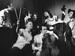 """<span class=""""normal""""><br /><i>«Концерт для?» поМ.Жванецкому, спектакль ленинградского Театра Комедии.<br /> Во втором ряду: Л.Милиндер (Кларнет), И.Окрепилов (Флейта), В.Карпова (Скрипка), О.Антонова (Контрабас), В.Михайловский (Труба); впервом ряду: В.Харитонов (Ударник), Л.Лемке Виолончель).</i></span>"""