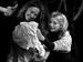 """Спектакль: <b><i>Кураж</i></b><br /><span class=""""normal"""">Катрин, еенемая дочь— Ирина Богданова<br />Крестьянка— Алла Черных<br /><i>Репетиция</i><br /><span class=""""small"""">© Ирина Параскевова</span></span>"""