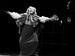 """Спектакль: <b><i>Кураж</i></b><br /><span class=""""normal"""">Иветта Потье— Ольга Левитина<br />Полковой священник— Борис Романов<br /><i>Репетиция</i><br /><span class=""""small"""">© Ирина Параскевова</span></span>"""
