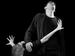 "Спектакль: <b><i>Моя тень</i></b><br /><span class=""normal"">Анунциата, его дочь— Алла Черных<br />Учёный, Его тень— Евгений Редько<br /><i>Репетиция</i><br /><span class=""small"">© Дмитрий Хованский</span></span>"