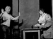 "Спектакль: <b><i>Фокусник</i></b><br /><span class=""normal"">Россомахин, Дима— Петр Кудряшов<br />Отавтора— Станислав Сухарев<br />Фокусник— Алексей Шулин<br /><i>Репетиция</i><br /><span class=""small"">© Дмитрий Хованский</span></span>"