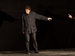 "Спектакль: <b><i>Моя тень</i></b><br /><span class=""normal"">Учёный, Его тень— Евгений Редько<br /><i>Репетиция</i><br /><span class=""small"">© Евгений Люлюкин</span></span>"