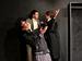 "Спектакль: <b><i>Мольер «Тартюф». ВШколе клоунов</i></b><br /><span class=""normal"">Тартюф— Евгений Кулаков<br />Дамис, сын Оргона— Василий Жогов<br />Оргон, муж Эльмиры— Станислав Сухарев<br /><i></i><br /><span class=""small"">© Дмитрий Хованский</span></span>"