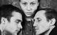 """Спектакль: <b><i>В.Ж.</i></b><br /><span class=""""normal"""">Семён— Николай Ефремов<br />Васса-мать— Евгения Добровольская<br />Павел— Игорь Хрипунов<br /><i></i><br /><span class=""""small"""">© Евгений Потапов</span></span>"""