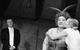 """Спектакль: <b><i>Спящий принц</i></b><br /><span class=""""normal"""">Питер Нортбрук— Артём Волобуев<br />Супруга Чарльза— Ольга Васильева<br />Мэри Морган— Ксения Теплова<br /><i></i><br /><span class=""""small"""">© Екатерина Цветкова</span></span>"""