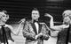 "Спектакль: <b><i>Мастер иМаргарита</i></b><br /><span class=""normal"">Софья Ардова<br />Жорж Бенгальский— Артём Волобуев<br />Анастасия Скорик<br />Мария Сокова<br /><i></i><br /><span class=""small"">© Екатерина Цветкова</span></span>"