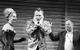 "Спектакль: <b><i>Мастер иМаргарита</i></b><br /><span class=""normal"">Гелла— Мария Зорина<br />Жорж Бенгальский— Артём Волобуев<br />Бегемот— Евгений Сытый<br /><i></i><br /><span class=""small"">© Екатерина Цветкова</span></span>"