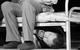 "Спектакль: <b><i>Мастер иМаргарита</i></b><br /><span class=""normal"">Коровьев— Михаил Трухин<br />Поплавский— Владимир Тимофеев<br />Бегемот— Артём Волобуев<br /><i></i><br /><span class=""small"">© Екатерина Цветкова</span></span>"