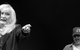 """Спектакль: <b><i>Ночь влюблённых</i></b><br /><span class=""""normal"""">актриса— Ирина Мирошниченко<br />актер— Сергей Чонишвили<br /><i></i><br /><span class=""""small"""">© Екатерина Цветкова</span></span>"""