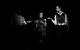 "<div class=""normal"">Кот Бегемот — Игорь Войнаровский<br />Маргарита — Полина Агуреева<br />Коровьев — Фёдор Малышев</div><div class=""small it normal"">Фото: Сергей Петров</div>"