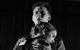 "<div class=""normal"">Миколай Митрич Зайцев<span class=""bp""> </span><span class=""bs"">(</span>Зайчик) &mdash; Валерий Зазулин<br />Клаша-мечта, Цыганка, Клаша, Незнакомка, Медсестра &mdash; Мария Сокольская</div><div class=""small it normal"">Фото: Екатерина Цветкова</div>"